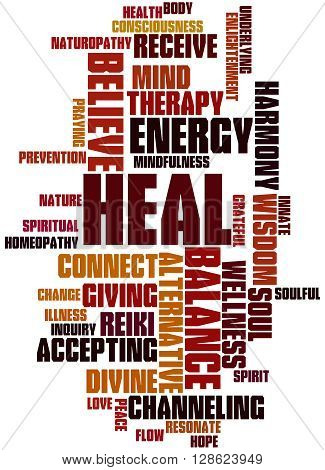Heal, Word Cloud Concept 4