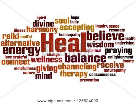 Heal, Word Cloud Concept 7
