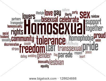 Homosexual, Word Cloud Concept 9