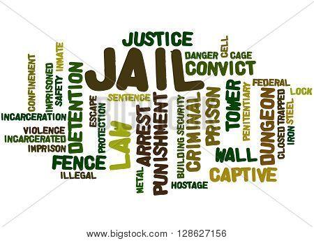 Jail, Word Cloud Concept 7