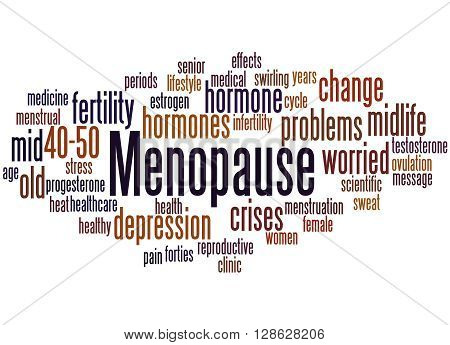 Menopause, Word Cloud Concept 4