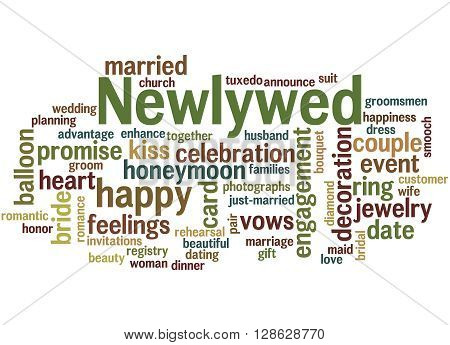 Newlywed, Word Cloud Concept 2