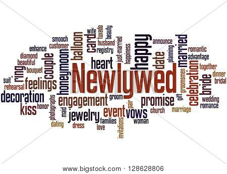 Newlywed, Word Cloud Concept 3