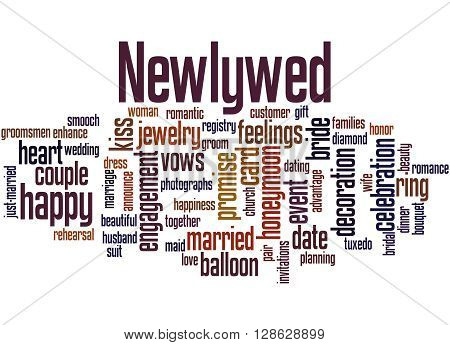 Newlywed, Word Cloud Concept 6