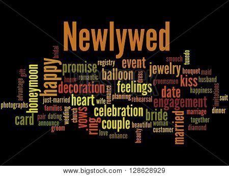 Newlywed, Word Cloud Concept 7