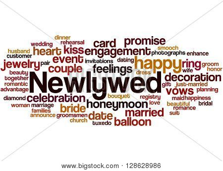 Newlywed, Word Cloud Concept 9