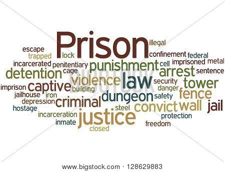 Prison, Word Cloud Concept 4