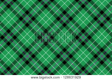 hibernian fc tartan fabric texture diagonal pattern seamless .Vector illustration. EPS 10. No transparency. No gradients.