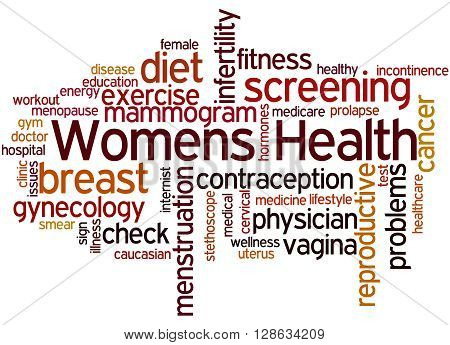 Womens Health, Word Cloud Concept 2