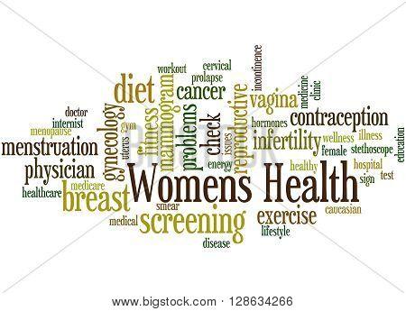 Womens Health, Word Cloud Concept 7