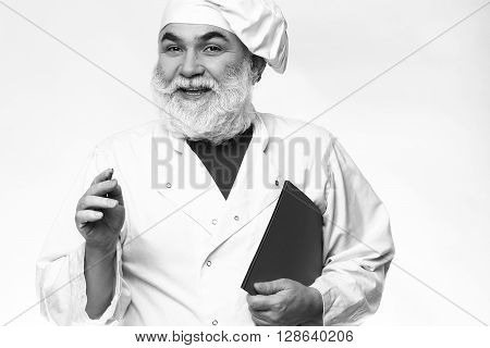 Smiling Bearded Cook