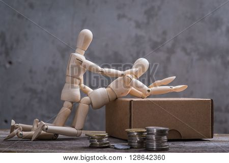 Small Wooden Dummy's Sex For Money