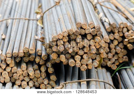 Bars Of Reinforced Steel.