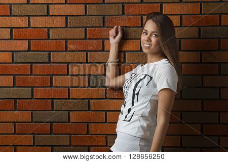 Young Woman Hanging Out