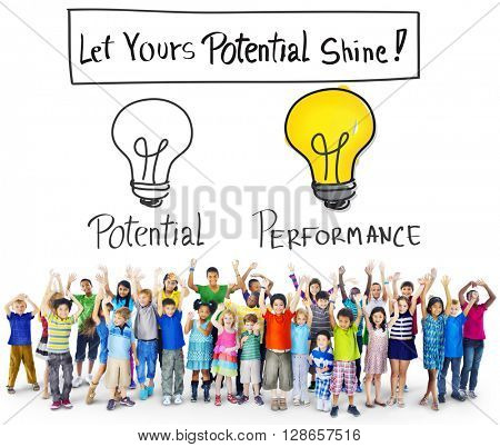 Potential Performance Capacity Motivation Skill Concept