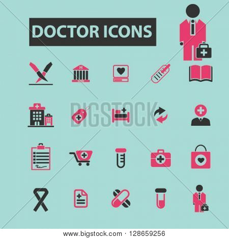 doctor icons