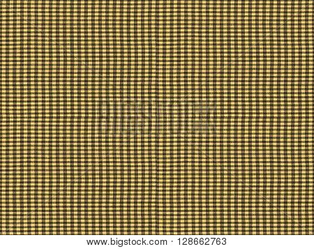 Seamless Tileable Texture - Red Checkered Tablecloth Fabric Sepi