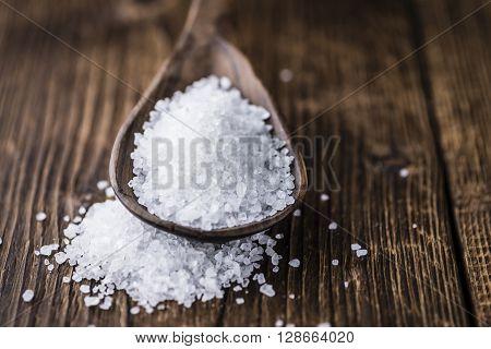 Heap Of Coarse Salt