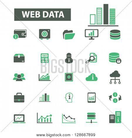 web data icons