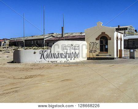 Ghost Town Kolmanskop, Namibia Desert