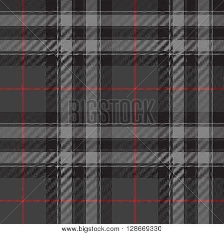 Pride of scotland silver tartan kilt texture seamless pattern .Vector illustration. EPS 10. No transparency. No gradients.
