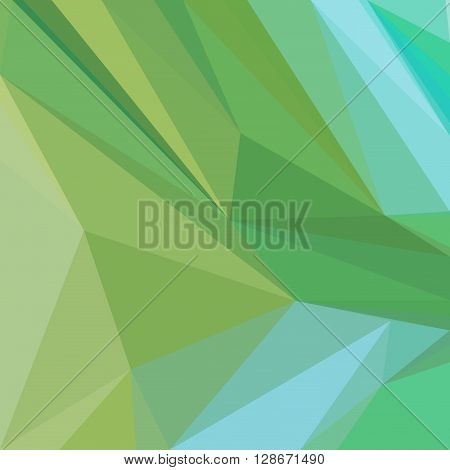 Background with Abstract Low Poly Polygonal Geometrical Pattern. Vector