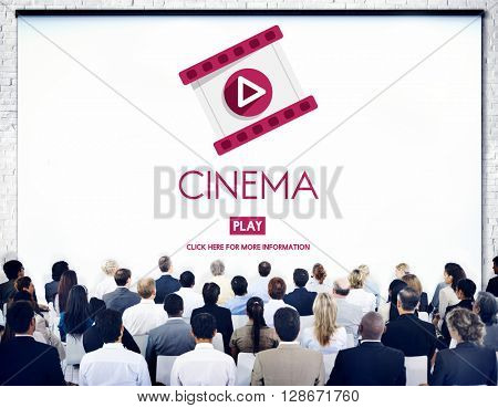 Cinema Theater Multimedia Film Entertainment Concept