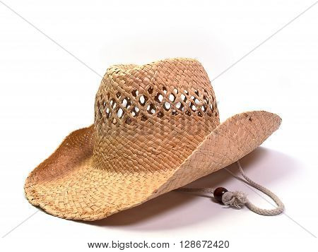 Brown hat Wide Brim Straw Hat , The beauty.