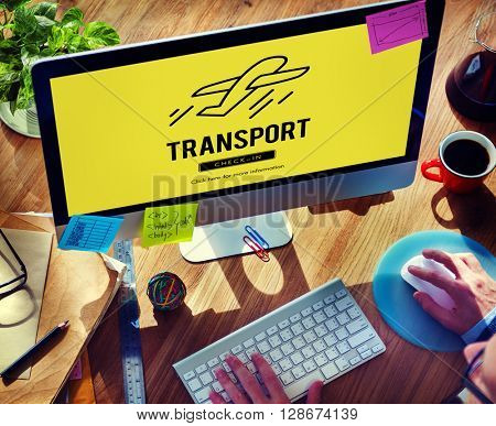 Transport Travel Departure Take off Concept