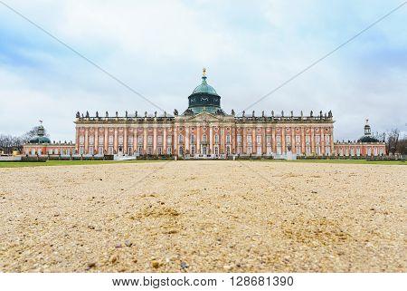 New Palace in Sanssouci Park Potsdam Germany