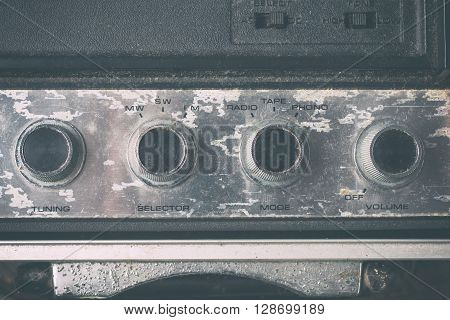 Old Volume Button tunning selector and mode