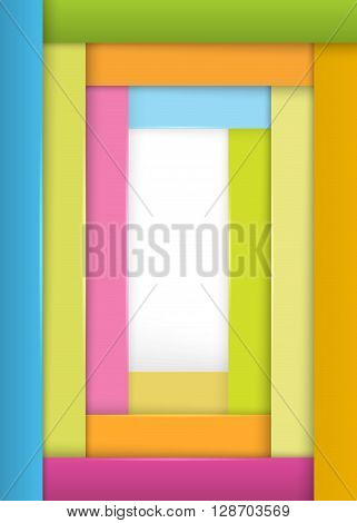 Cover Page Of The Book Wide Strips Background Joy