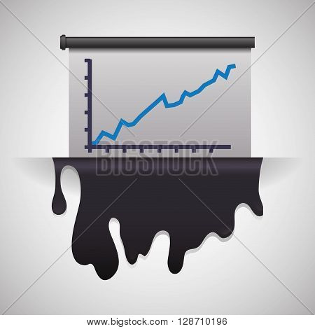 Petroleum  concept with icon design, vector illustration 10 eps graphic.