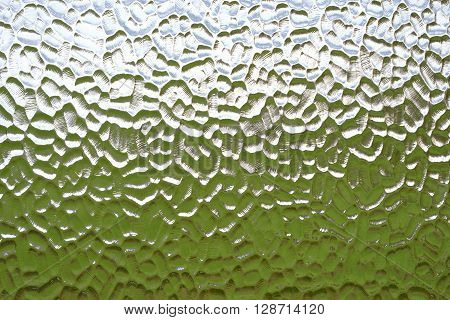 Colours behind opaque privacy glass widow texture