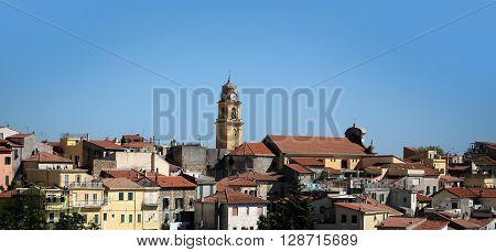 Old Town With Terracotta Roofs