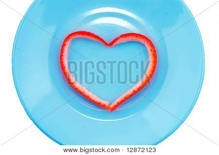 heart on the saucer