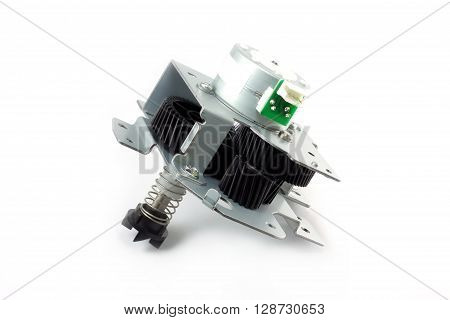 Electric Motor - Speed Control Motor With Gear Spring And Bracket