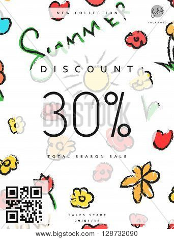 Discount 30. Discounts price tag. Summer discount. Black Friday. Clearance Sale. Discount coupon. Discount summer. Sale discount