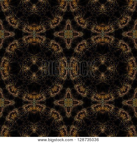 Kaleidoscopic Seamless Generated Texture
