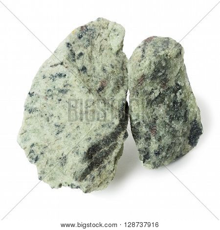 Two piece apatite nepheline ore raw material for production of fertilizers