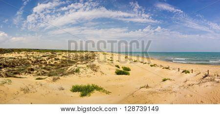 The coast of Mediterranean sea Costa Blanca Spain