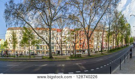 Warschauer Straße Is A Street In The Friedrichshain Locality Of Central Berlin