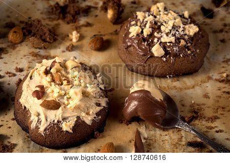 Chocolate On Cookies