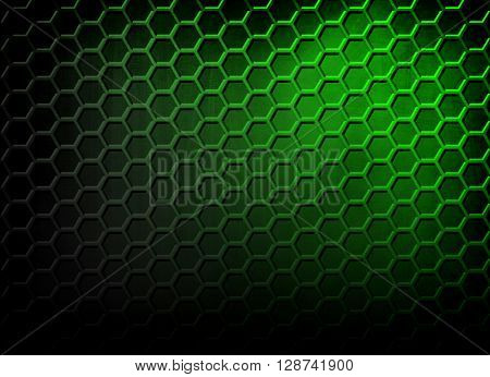 abstract green cellular design background