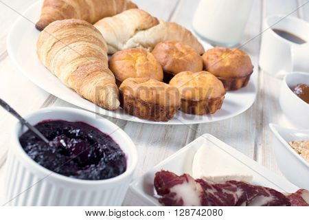 Proja And Croissants