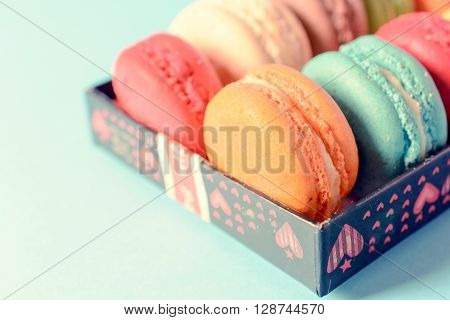 French Macaroon Cookies