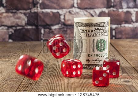 Red Dice And Green Dollar