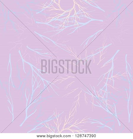 vector seamles root pattern. design for textile fabric wrapping websites