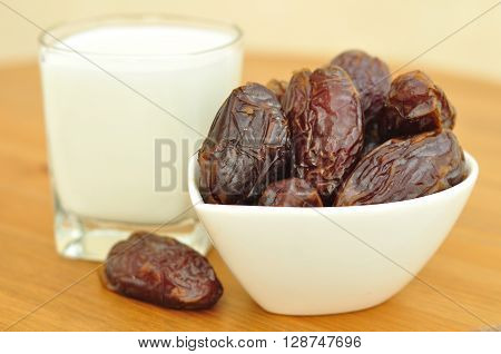 Israeli  dates of Medjoul sort - the most luscious and tasty dates.