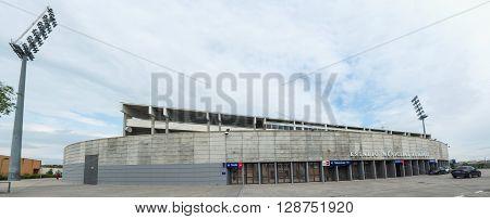 Butarque Soccer Stadium Leganes Panoramic View